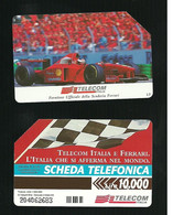 701 Golden - Telecom Italia E Ferrari Da Lire 10.000 Telecom - Openbare Reclame