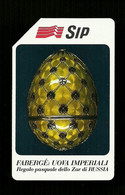 105 Golden - Uova Fabergè Da Lire 5.000 Sip - Openbare Reclame