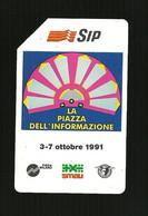 136 Golden - Smau 1991 Da Lire 10.000 Sip - Openbare Reclame