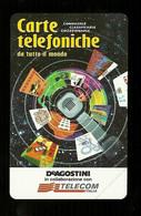 938 Golden - De Agostini Schede Da Lire 1.000 ( Nuova ) Telecom - Openbare Reclame