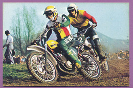 MOTOCROSS - Harrie EVERTS Champion Du Monde 250 Cc 1975 Sur Puch 250 Hans MAISCH Maico 250 - Motociclismo
