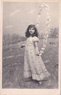 Bella Cartolina D'epoca Bambina  Viaggiata - Escenas & Paisajes