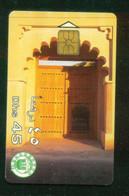 UNITED ARAB EMARITES / UAE TRADITIONAL DOOR - Telefoni