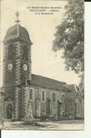 70 - Haute Saone - Augicourt - L'église Et Le Monument - - Otros Municipios