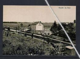 PHOTO COURTIL GOUVY  LUXEMBOURG STATION GARE REPRO - Gouvy