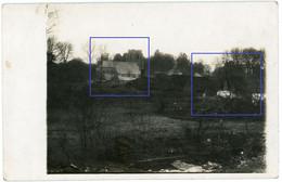 Allemande Carte Photo - Haplincourt - Kirche Eglise  Bois Stellung  - .WWI 1.WK - 1914-18