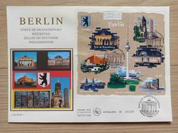 FDC Bloc N°088 -  Capitales Européennes - Berlin - Allemagne - 2000-2009