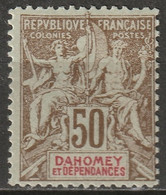 Dahomey 1901 Sc 12 Yt 5 MLH* - Nuovi