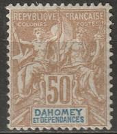Dahomey 1905 Sc 12A Yt 13 MH* - Nuovi