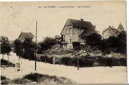 La Panne Avenue Bortier Les Tamarix Circulée En 1923 - De Panne