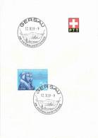 "ET Werbedatumstempel  ""Gersau Am Vierwaldstättersee""             1959 - Covers & Documents"