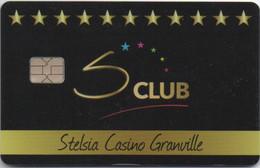 Stelsia Casino Granville (Nouvelle Carte De Membre Et Slot) + Sa Carte De Visite (Manche 50 - France) - Casinokaarten