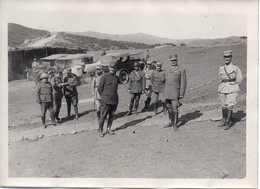 Photo Général Leonidas Paraskevopoulos,front Grec 1918,format 13/18 - War, Military