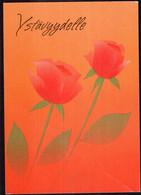 Finland - 1992 - Carte Postale - Fleurs - Roses -  Croix-Rouge - A1RR2 - Finland