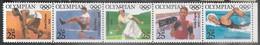 US  1990  Sc#2496-2500  25c Great Olympians Strip Of 5  MNH  Face $1.25 - Nuevos