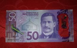 New Zealand 50 Dollars 2016 P-194 (194a) Circulated - New Zealand