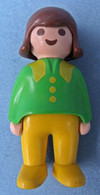 Playmobil Figur Geobra 1990  -  Junge ( Erste Wünsche ) - Playmobil