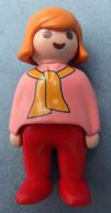 Playmobil Figur Geobra 1990  -  Mädchen ( Erste Wünsche ) - Playmobil