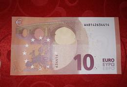 10  EURO GERMANY - W007 E5 - WA8142634414 - UNC - LAGARDE - 10 Euro