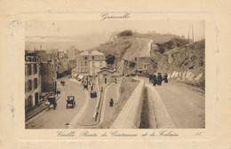 Granville (50 Manche) Vieille Route De Coutances à Falaise - édit. LL Circulée 1909 - Granville