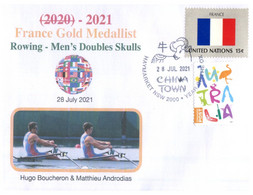 (VV 20 A) 2020 Tokyo Summer Olympic Games - France Gold Medal - 28-7-2021 - Rowing - Zomer 2020: Tokio
