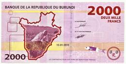 BURUNDI - 2000 FRANCS - 15/01/2015 - Pick 52 - UNC. - Série CB - 2.000 - Burundi