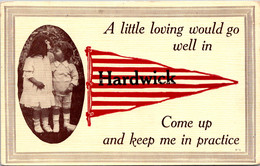 Vermont Hardwick A Little Loving Would Go Well 1913 Pennant Series - Otros