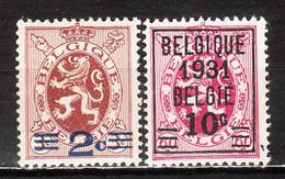 315/16**  Lion Héraldique - Série Complète - MNH** - COB 2.50 - Vendu à 12.50% Du COB!!!! - Unused Stamps