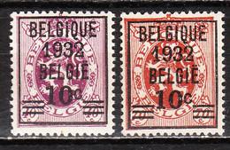 333/34**  Lion Héraldique - Série Complète - MNH** - COB 28 - Vendu à 13% Du COB!!!! - Unused Stamps