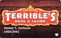 Terrible's Casino - Jean NV - Slot Card - Casinokaarten