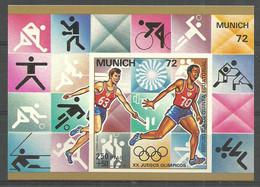 Equatorial Guinea  1972 Mi Block 18 MNH  (ZS6 GUEbl18all+3643) - Verano 1972: Munich
