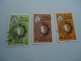 BAHRAIN  USED STAMPS  ANNIVERSARY - Bahreïn (1965-...)