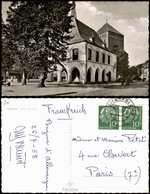 Ansichtskarte Erkelenz Rathaus 1955   Gelaufen Mit Stempel ERKELENZ (nach Paris) - Ohne Zuordnung