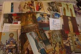 "LOT DE 110 CARTES ""RELIGION"" ...STATUES. - 100 - 499 Cartes"