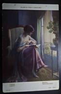 A41  FRANCE CPA ENJOLRAS - LISEUSE READING - Altri