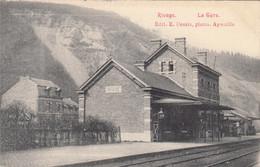 RIVAGE, Commune De SPRIMONT, La Gare, éditeur: Desaix, Aywaille - Sprimont