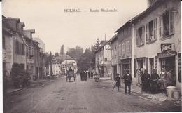 SEILHAC (Corrèse 19)- Route Nationale. (Charrette, Bureau De Tabac) - Andere Gemeenten