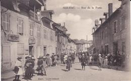 SEILHAC (Corrèse 19) Rue De La Poste. (Belle Anmation, Caisse D'Epargne, Bureau De Poste). - Andere Gemeenten