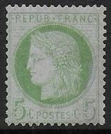 Cérès  N° 53 Neuf Sans Gomme  - Cote : 100 € - 1871-1875 Ceres