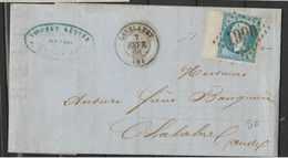 B De F Intégral + VAR Tache Blanche Sur N°22 TBE - 1862 Napoleon III