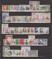 1960-FRANCE-ANNEE COMPLETE 1960**53 TIMBRES - 1960-1969