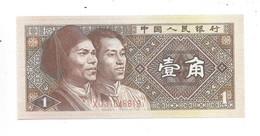 *china 1 Jiao 1980  Km 881  Unc - Chine