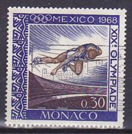 Monaco - 1968 - Jeux Olympique De Mexico - Y&T 737 - Oblitéré - Used - Gebruikt