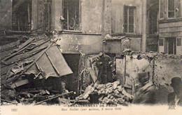 GUERRE 1914- 1918 WW1  Bombardement De Paris- Rue Nollet  ... - Distrito: 17