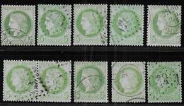 Cérès N° 53 X 10 Exemplaires 1er Choix - Cote : 100 € - 1871-1875 Ceres