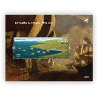 Portugal ** & 440 Years Of Salga Battle, Terceira Island, Azores 1581-2021 (77761) - Other