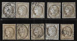 Cérès N° 56 X 10 Exemplaires 1er Choix - Cote : 60 € - 1871-1875 Ceres