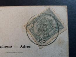 """Belgique  Oblitération Edegem Sur CP Vue """" La Grotte """" - AK [1871-09]"""