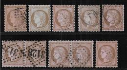 Cérès N° 58 X 10 Exemplaires 1er Choix - Cote : 180 € - 1871-1875 Ceres