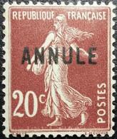 FRANCE Variété Timbre Cours D'instruction N°139-CI 3 Neuf* - Corsi Di Istruzione